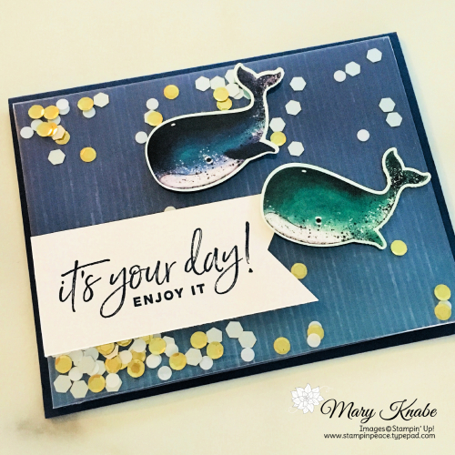 Happiest of Birthdays Stamp Set & Whale Builder Punch by Stampin' Up!