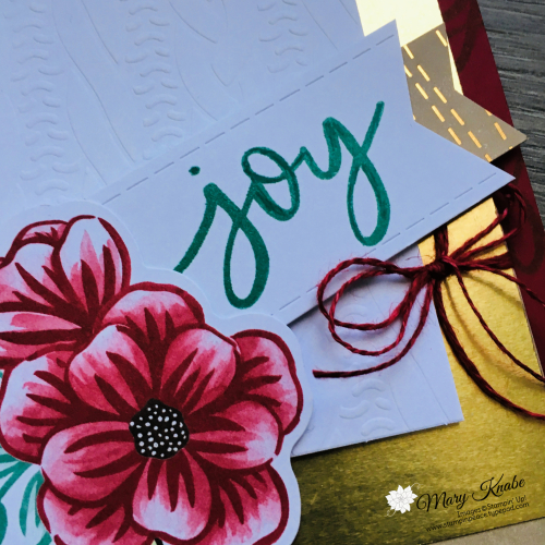 October Paper Pumpkin Kit - Joy to the World - by Stampin' Up!