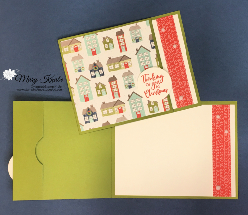Itty Bitty Christmas Stamp Set & Trimming the Town Designer Series Paper by Stampin' Up!