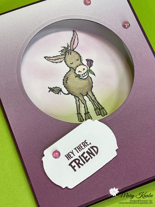 "Darling Donkeys & Oh So Ombre 6"" x 6"" Designer Series Paper by Stampin' Up!"