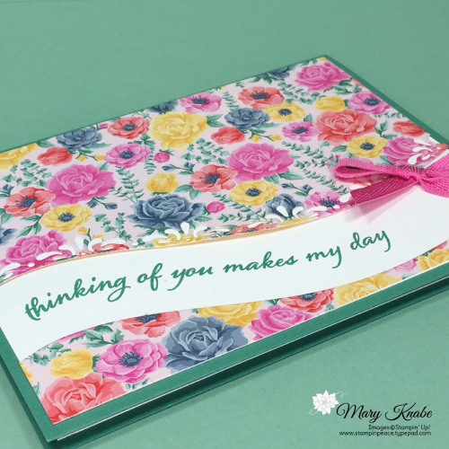 Quite Curvy Bundle & Flowers for Every Season Designer Series Paper by Stampin' Up!