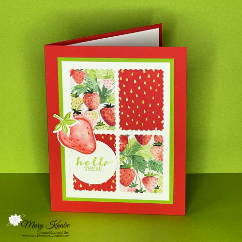 Sweet Strawberry Bundle & Berry Delightful Designer Series Paper