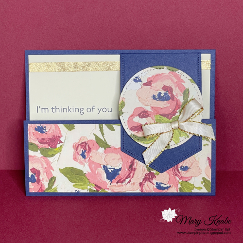 Art Gallery Stamp Set & Fine Art Floral Designer Series Paper by Stampin' Up!