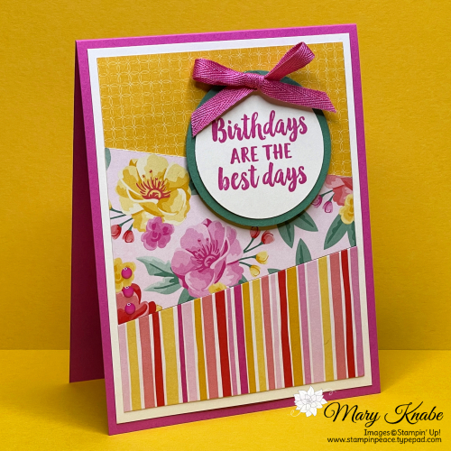 Beautiful Friendship Stamp Set & Flowers for Every Season Designer Series Paper by Stampin' Up!