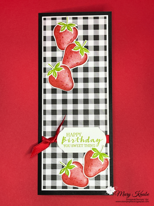 Sweet Strawberry Bundle by Stampin' Up!