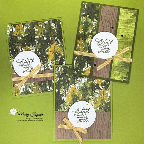Forever Fern Stamp Set & Beauty of the Earth Designer Series Paper by Stampin' Up!