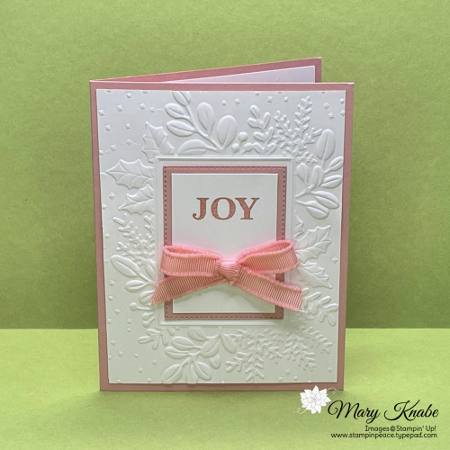 Stampin' Up! Merriest Moments Bundle - Mary Knabe