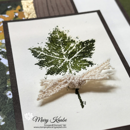 Stampin' Up! Gorgeous Leaves Stamp Set - Mary Knabe
