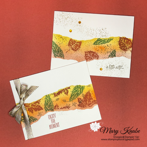 Stampin' Up! Gorgeous Leaves Stamp Set - Mary Knabe (3)
