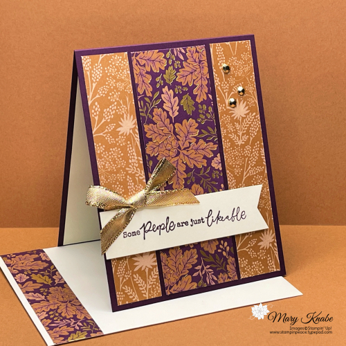 Stampin' Up! Blackberry Beauty Suite - Mary Knabe