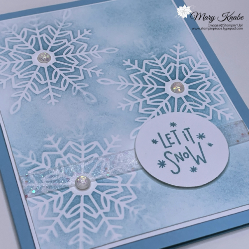 Stampin' Up! Encircled in Warmth with Wonderful Snowflakes - Mary Knabe (2)
