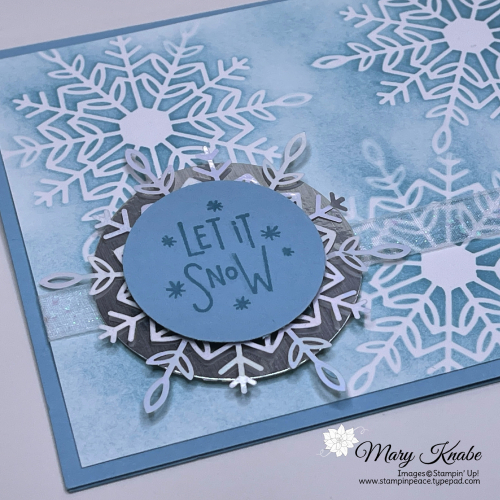 Stampin' Up! Encircled in Warmth with Wonderful Snowflakes - Mary Knabe (4)