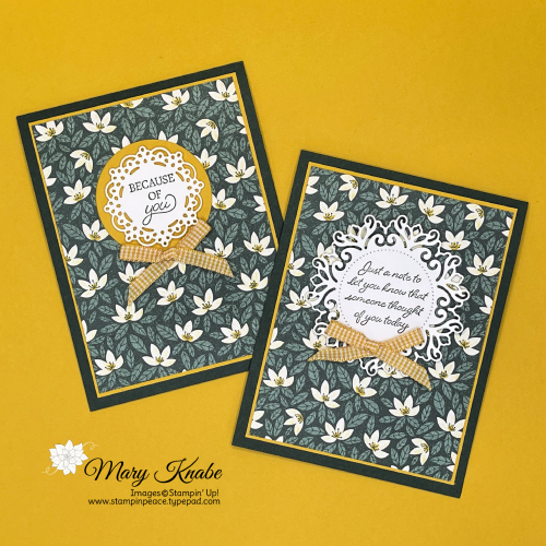 Stampin' Up! Encircled in Friendship Bundle - Mary Knabe