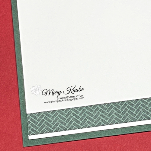 Stampin' Up! Encircled in Warmth Stamp Set & Encircled in Beauty Dies - Mary Knabe