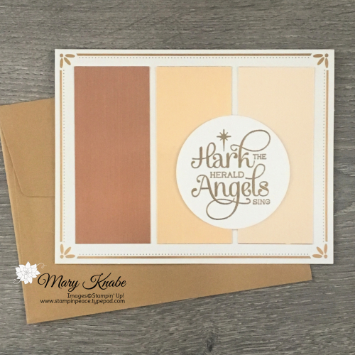For Unto Us Stamp Set & Brushed Metallic Paper by Stampin' Up!