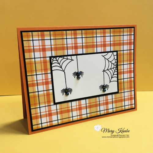 Festive Corner Stamp Set & Plaid Tidings by Stampin' Up!