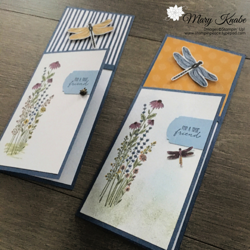Dragonfly Garden Bundle & Dandy Garden Designer Series Paper by Stampin' Up!