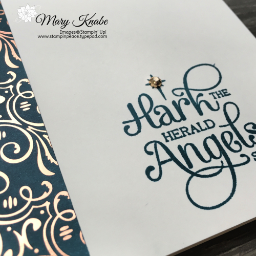 Brightly Gleaming Specialty Designer Series Paper & For Unto Us Stamp Set by Stampin' Up!