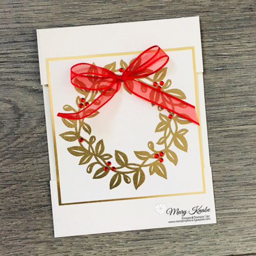 Arrange A Wreath Stamp Set by Stampin' Up!