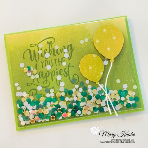 Happiest of Birthdays Stamp Set & Balloon Bouquet Punch by Stampin' Up!