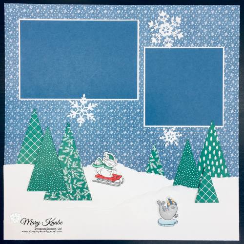 Freezin' Fun Bundle, Stitched Triangle Dies, Trimming the Town DSP, Classic Christmas DSP by Stampin' Up!