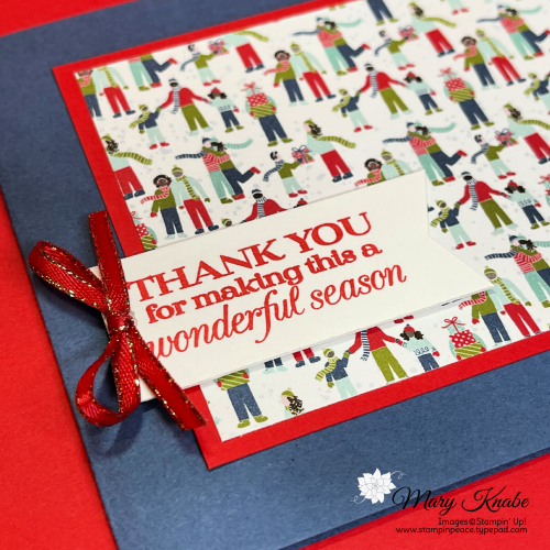Poinsettia Petal Stamp Set & Trimming the Town Designer Series Paper by Stampin' Up!