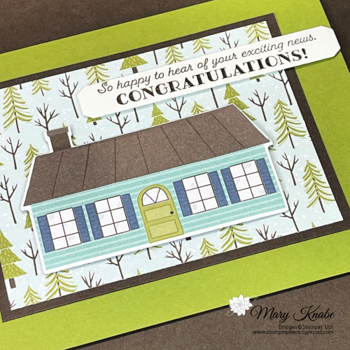 Handsomely Suited Stamp Set & Trimming the Town Designer Series Paper by Stampin' Up!
