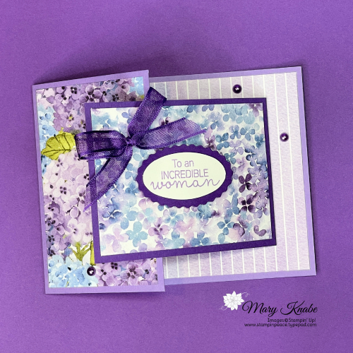 Hydrangea Hill Suite by Stampin' Up!
