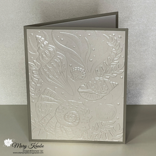 Friends Are Like Seashells Bundle & Pearlescent Specialty Paper by Stampin' Up!