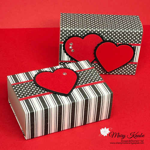 True Love Designer Series Paper & Love You Always Treat Boxes by Stampin' Up!
