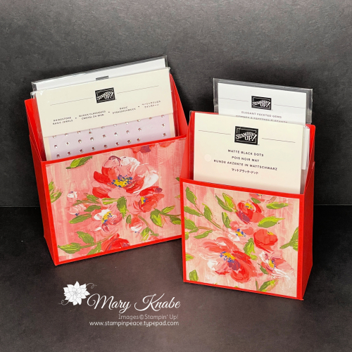 Embellishment Storage - Fine Art Floral Designer Series Paper by Stampin' Up!