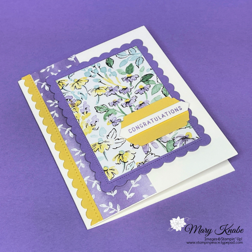 Hand-Penned Stamp Set & Scalloped Contours Dies by Stampin' Up!