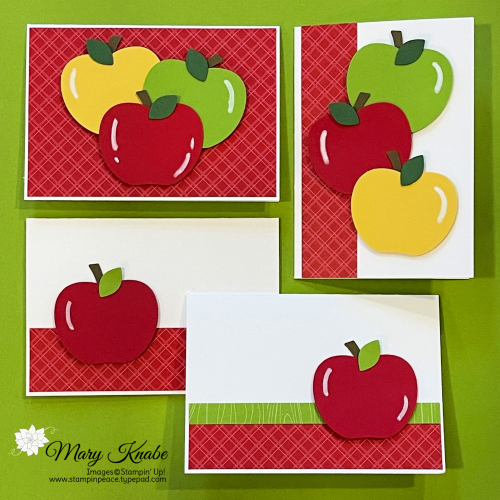 Apple Builder Punch by Stampin' Up!