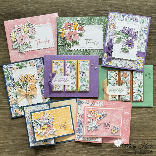 Hand-Penned Petals Card Class to Go