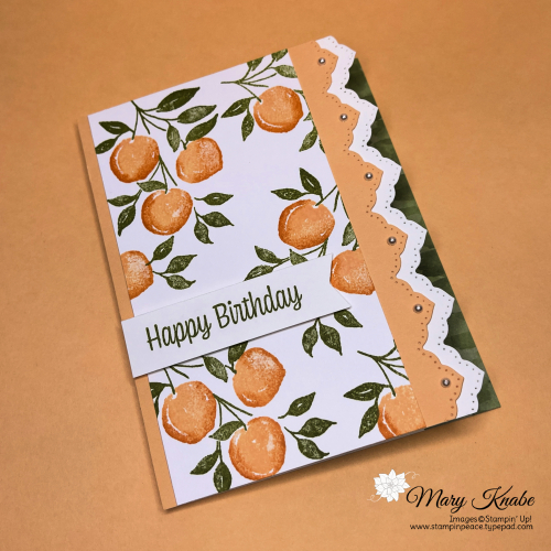 You're A Peach Suite by Stampin' Up!
