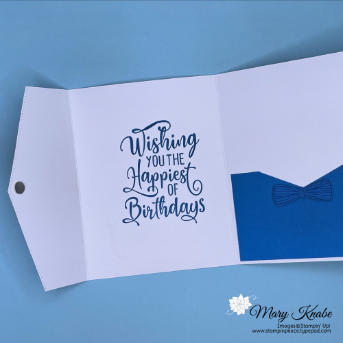 Happiest of Birthday Stamp Set & Handsomely Suited Stamp Set by Stampin' Up!
