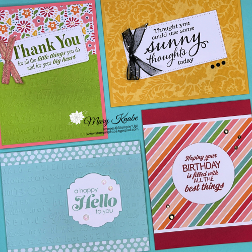 Sunny Sentiments Stamp Set by Stampin' Up!