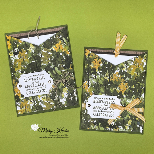 Inspired Thoughts Stamp Set & Beauty of the Earth Designer Series Paper by Stampin' Up!