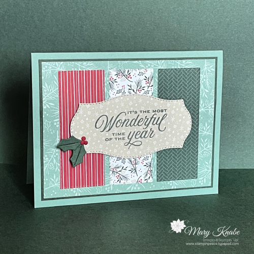 Tidings of Christmas Suite by Stampin' Up!