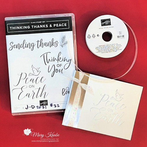 Thinking Thanks & Peace Stamp Set by Stampin' Up!