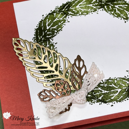 Stampin' Up! Gorgeous Leaves Card made with Stamparatus by Mary Knabe