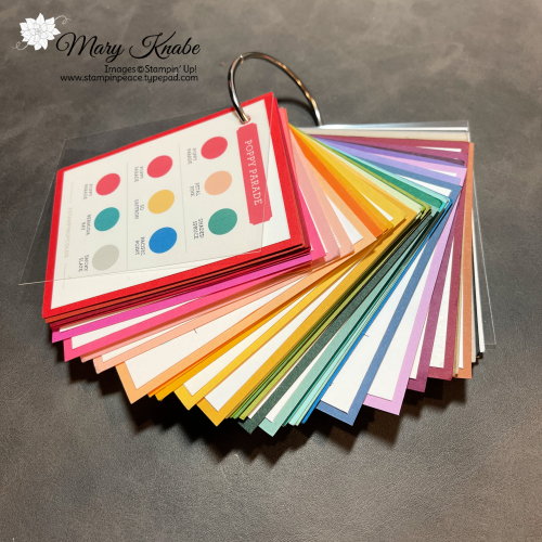 Stampin' Up! Color Coach Cards - Mary Knabe