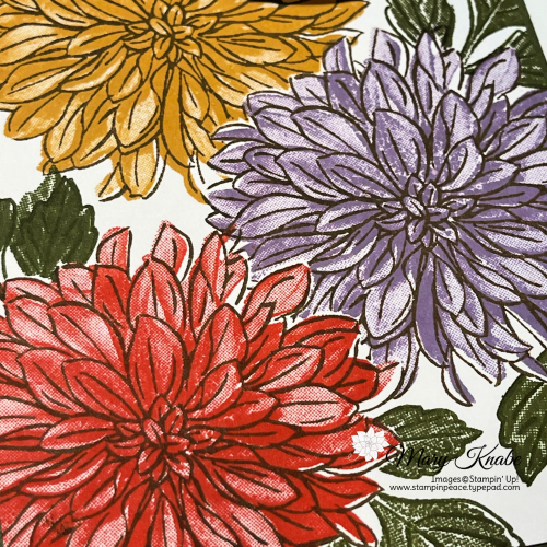 Stampin' Up! Delicate Dahlias Stamp Set - Mary Knabe (3)