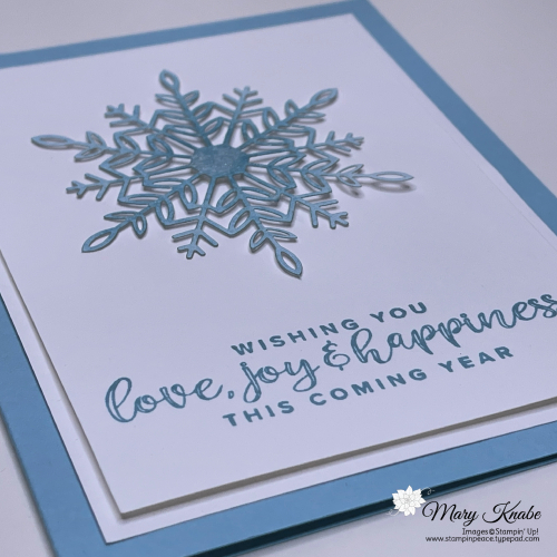 Stampin' Up! Encircled in Warmth with Wonderful Snowflakes - Mary Knabe (6)