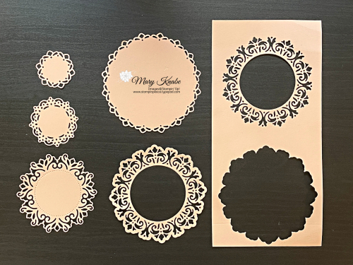 Stampin' Up! Encircled in Beauty Dies - Mary Knabe