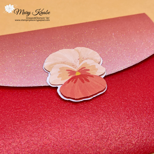 Ombre Specialty Paper & Pansy Petals DSP by Stampin' Up!