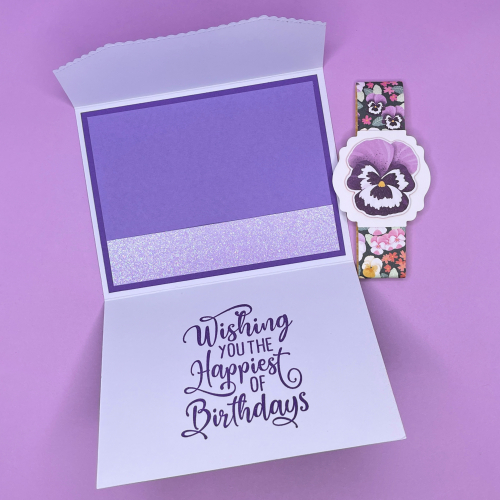 Happiest of Birthdays Stamp Set, Ombre Specialty Paper & Pansy Petals DSP by Stampin' Up!