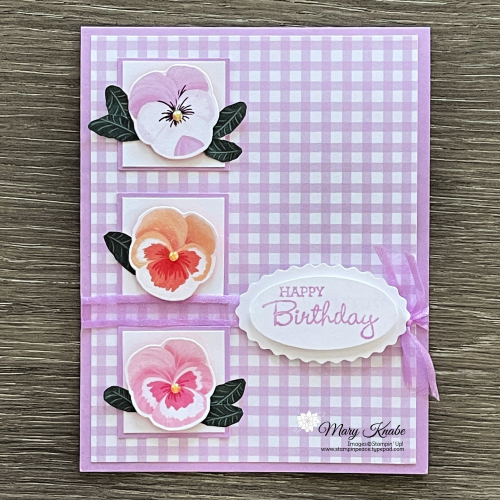Pansy Petals Suite by Stampin' Up!