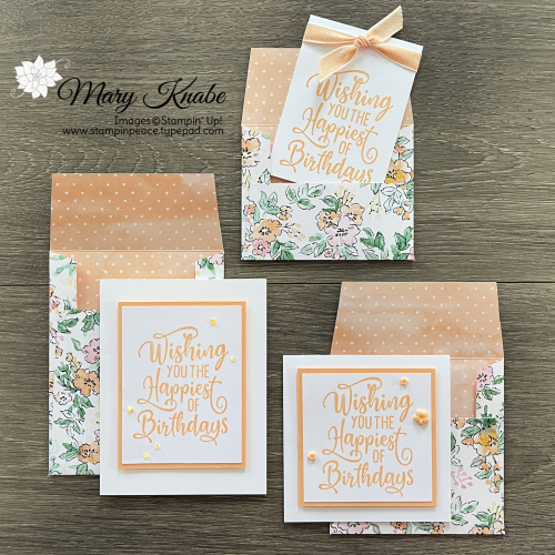 Happiest of Birthdays Stamp Set & Hand-Penned DSP by Stampin' Up!