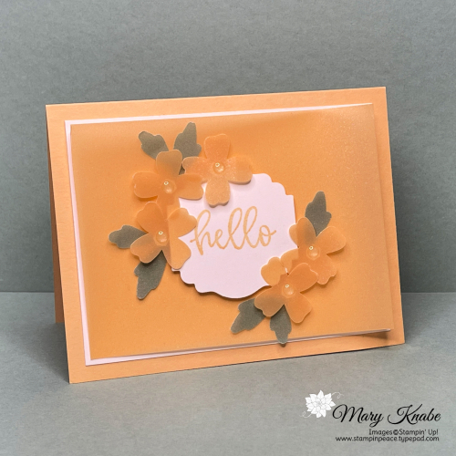 Biggest Wish Stamp Set & 2021-2023 In Color Shimmer Vellum by Stampin' Up!
